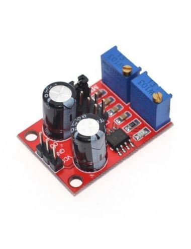 Generator fali prostokątnej NE555 1Hz - 200kHz