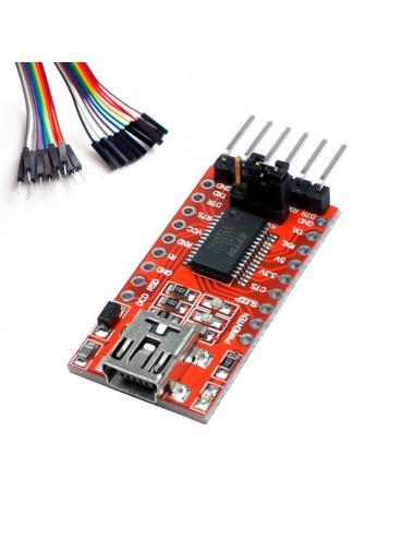 Programator SonOff FT232RL FTDI + przewody