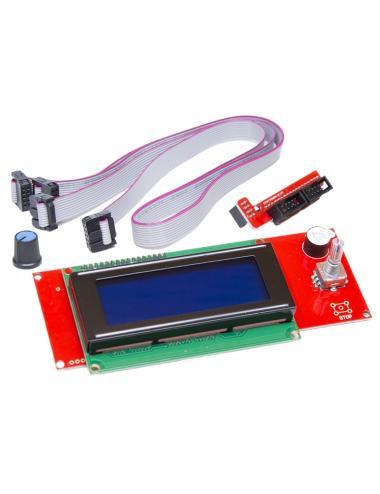 Kontroler RepRap 3D LCD 2004 RAMPS 1.4 slot na SD