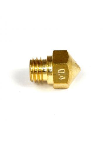 Dysza drukarki 3d 0.4mm filament 3 mm M7 gwint