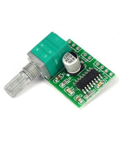 Wzmacniacz audio 2x3W PAM8403 5V z potencjometrem