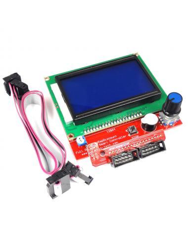 Kontroler RepRap 3D LCD 12864 RAMPS 1.4 slot na SD