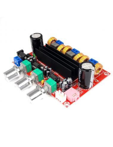 Wzmacniacz audio 2.1 TPA3116D2 2x50W+100W subwoofer
