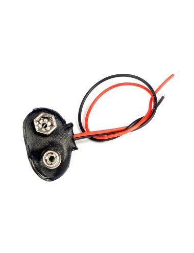 Adapter zatrzask gniazdo klips baterii 9V 6LR61 6F22